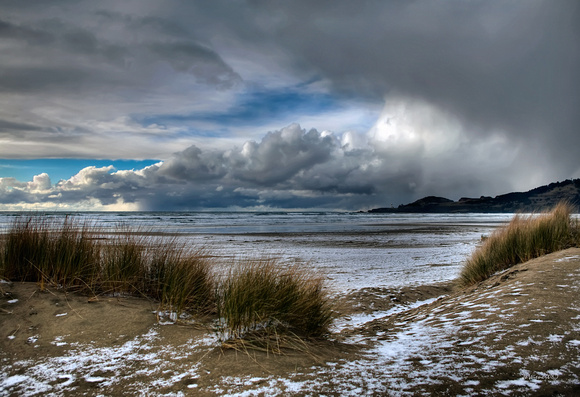 """Snow on the Beach"""